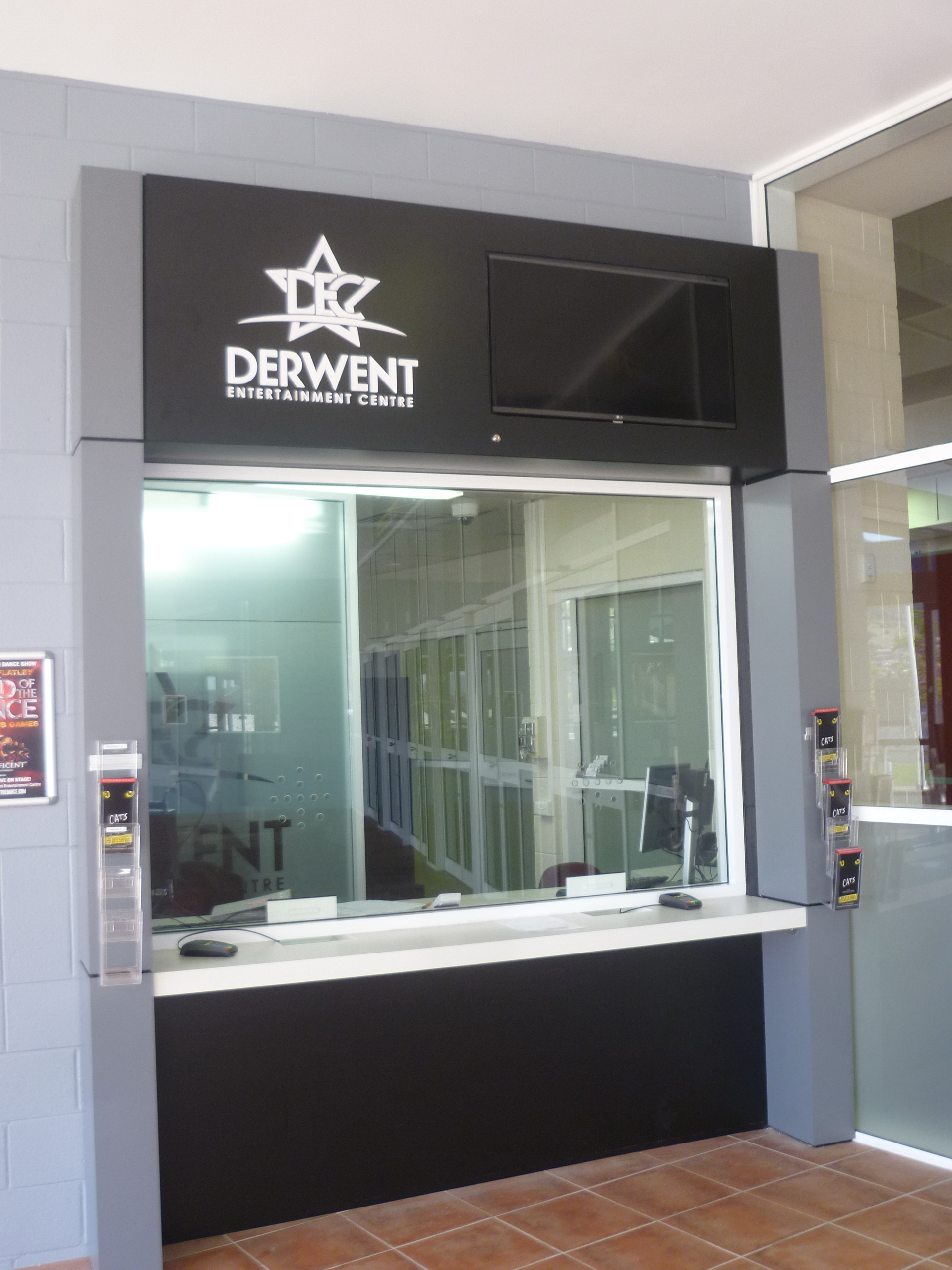Derwent Entertainment Centre Ticket Boxes